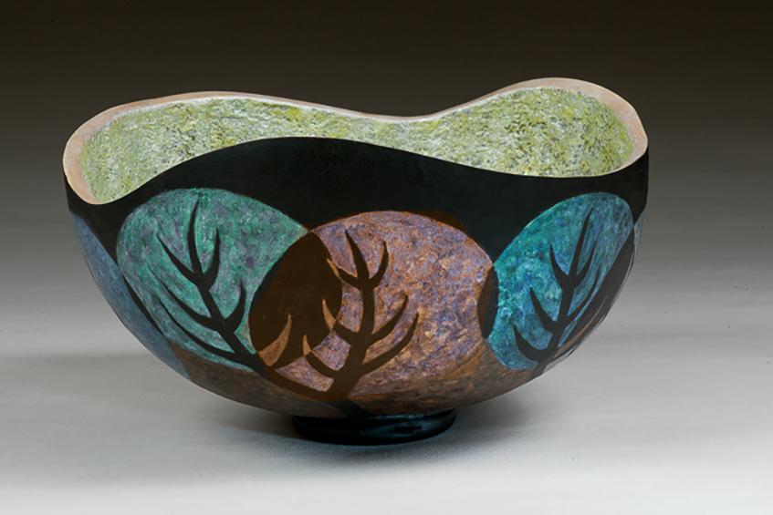 Art Deco Bowl 1, sold