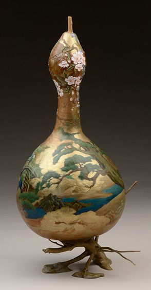 Momoyama Gourd, view2, 23 x 12 x 19 inches, sold
