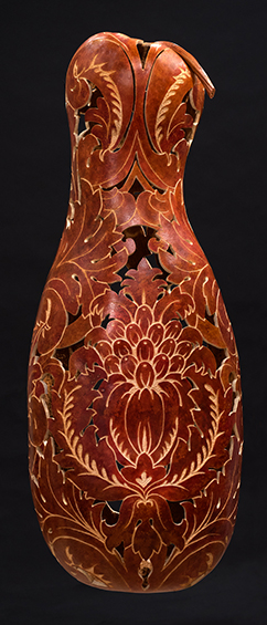 Regal Gourd , wall sconce, 29  x 11.5 x 9 inches, available for purchase