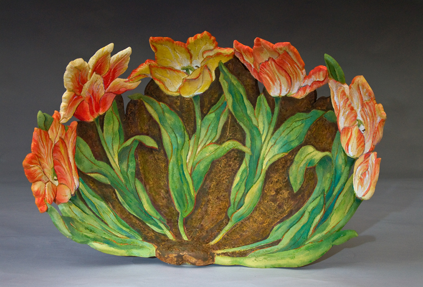 Tulip Bowl, alternate view, sold
