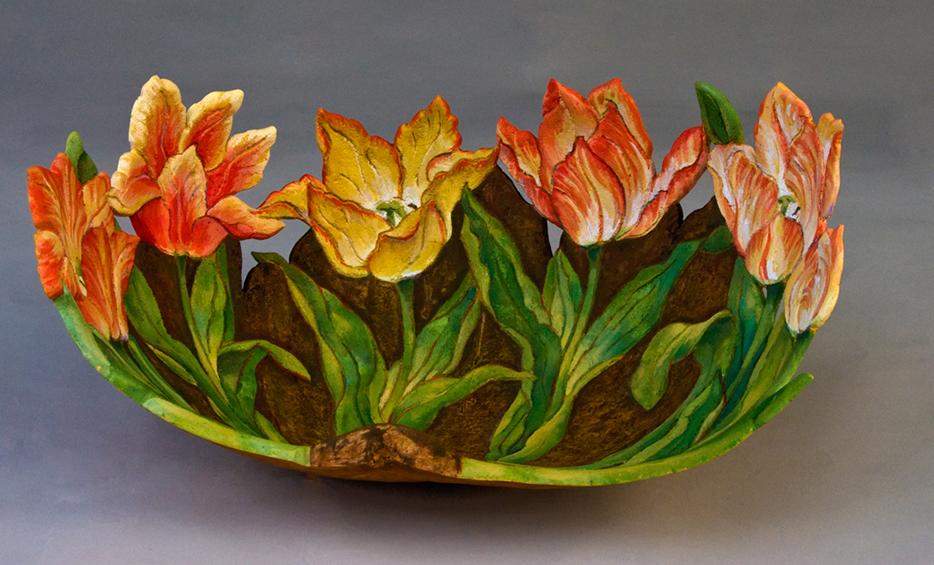 Tulip Bowl, sold