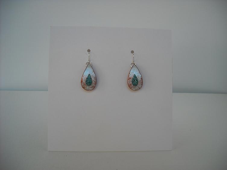 gourd earrings 3, sold