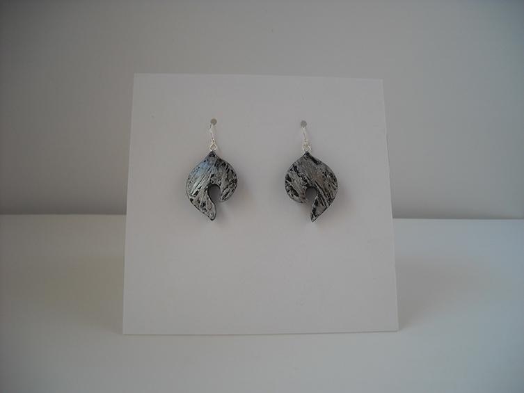 gourd earrings 4, sold