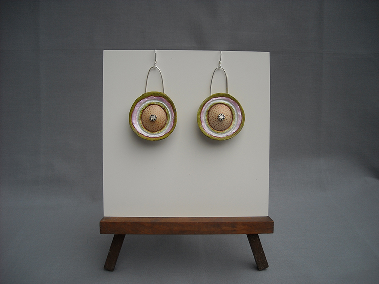 gourd earrings 2, sold