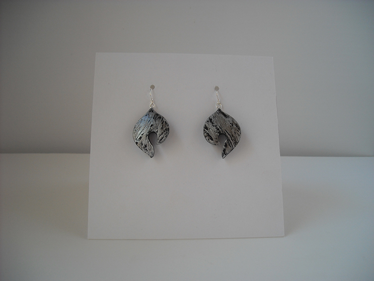 gourd earrings 4, sold