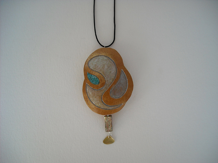 gourd pendant 35, sold