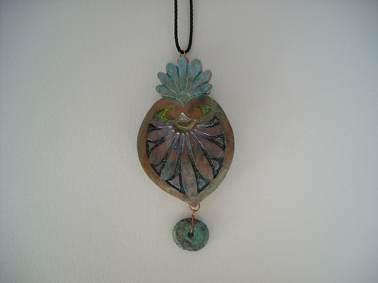 gourd pendant 37, sold