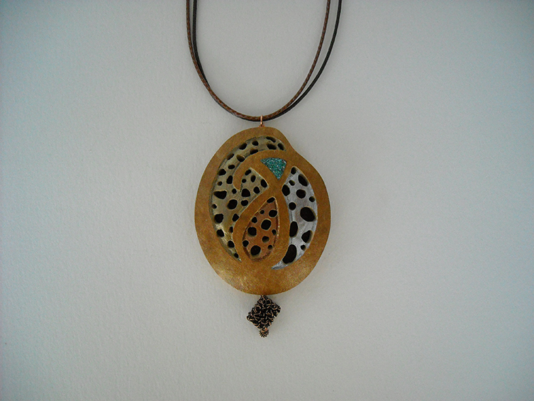 gourd pendant 39, sold