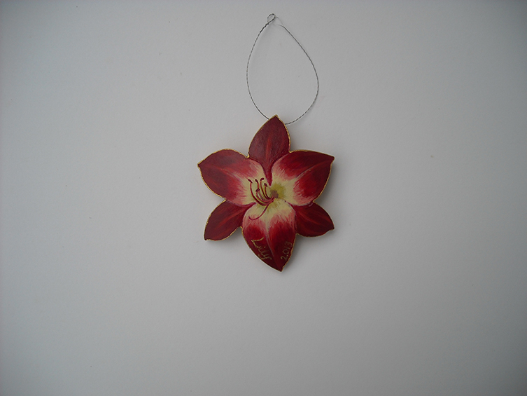 ornament, sold