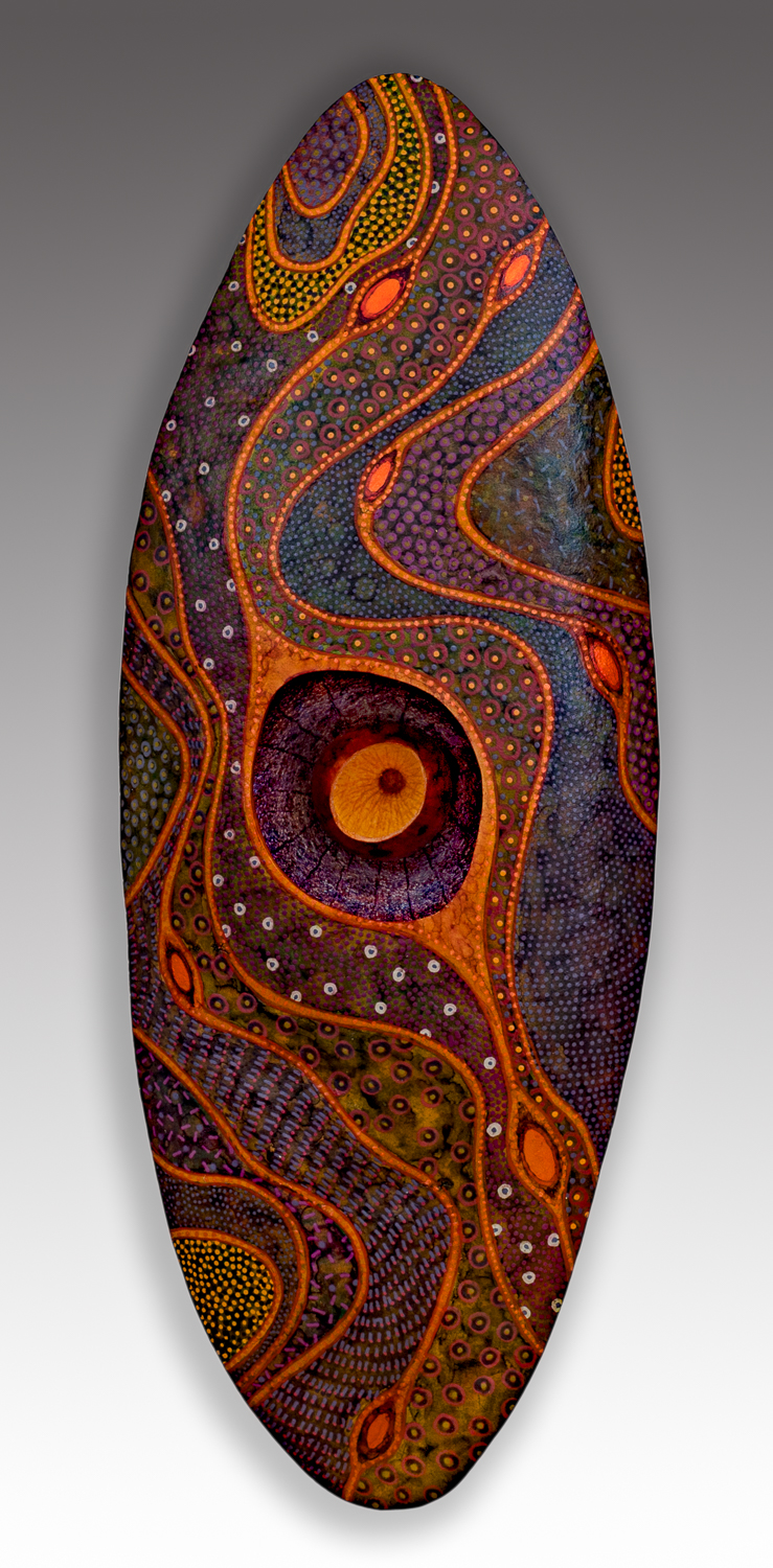 Dreamtime, 14 x 5.5 x 2.5 inches, available for purchase